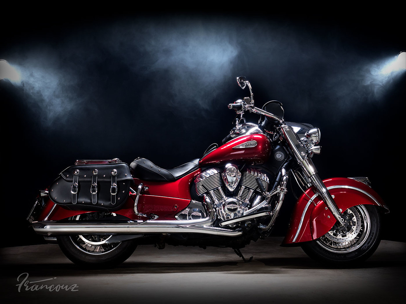 Indian Motorcycle Chief Classic 2014 | Custom Red Candy Red