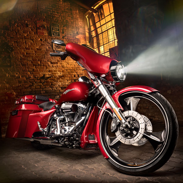 Harley Davidson Street Glide 2012, Custom Bagger